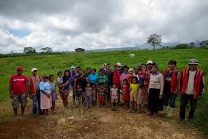 Bukidnon community members, Philippines