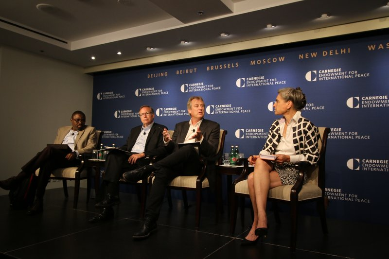 Oil corruption event at Carnegie Endowment for International Peace