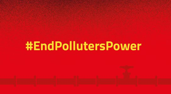 End Polluters Power graphic