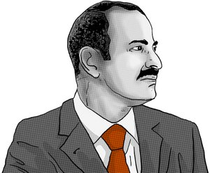 Hafez Makhlouf - ICIJ Illustration