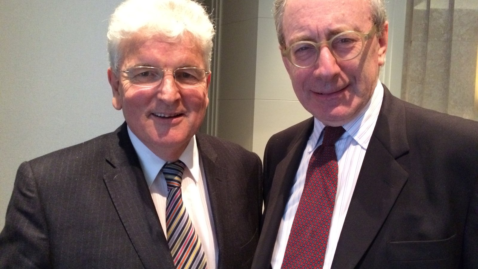 Tory Malcolm Rifkind and Labour's Des Browne