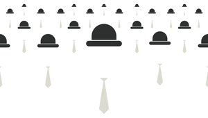 TEMPLO hats and ties graphic
