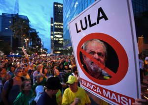 Brazil Lula anti-corruption protests