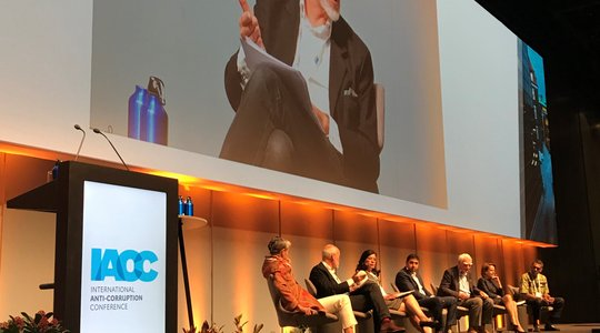 Patrick Alley on IACC panel 2018
