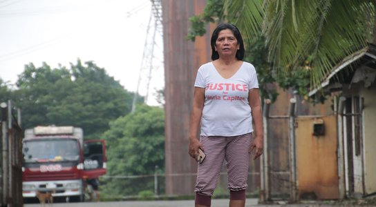Daisy Pedranza, leader of Limay Concerned Citizens, Philippines