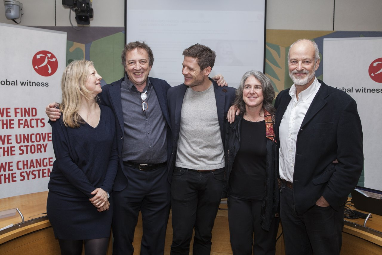 McMafia parliamentary event: James Norton w/Gillian and Founders