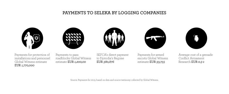 seleka payments infographic
