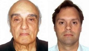 The 'Deacon of Bribes' Jorge Luz and his son Bruno. Their tentacles were in almost every corrupt deal studied by Global Witness