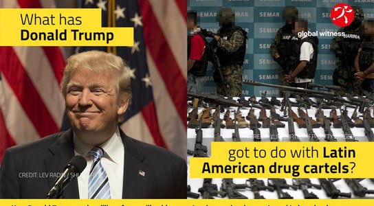 PT Social Explainer Image: What has Donald Trump got to do with Latin American drug cartels?