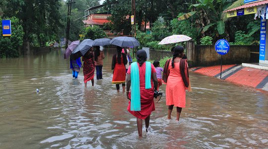 IPCC report blog - flooding in India